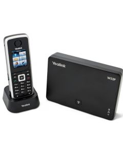 W52P  Yealink DECT SIP Cordless Wireless Handset + Base Station