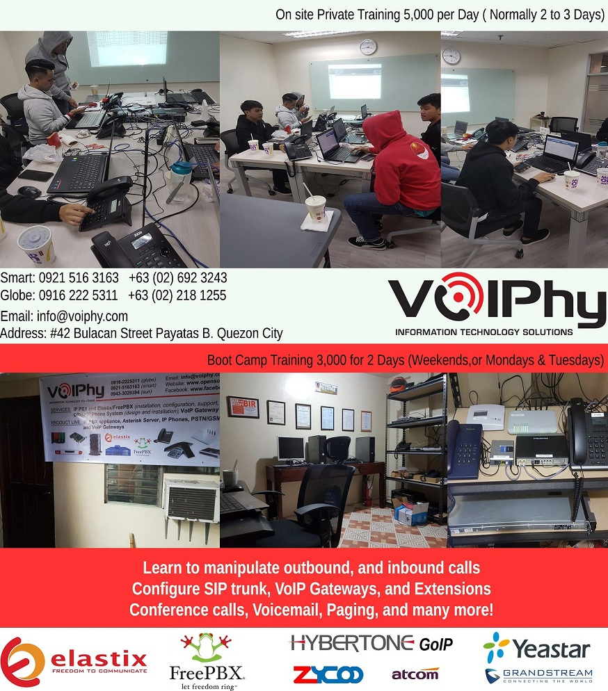 IP PBX ASTERISK VOIP Philippines - VoiPhy Information Technology