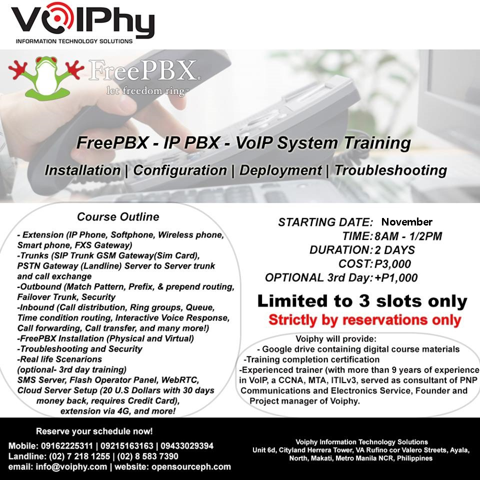 voip training